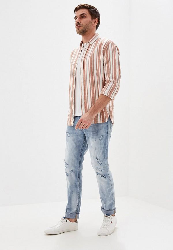 Фото 2 - мужские джинсы Y.Two голубого цвета