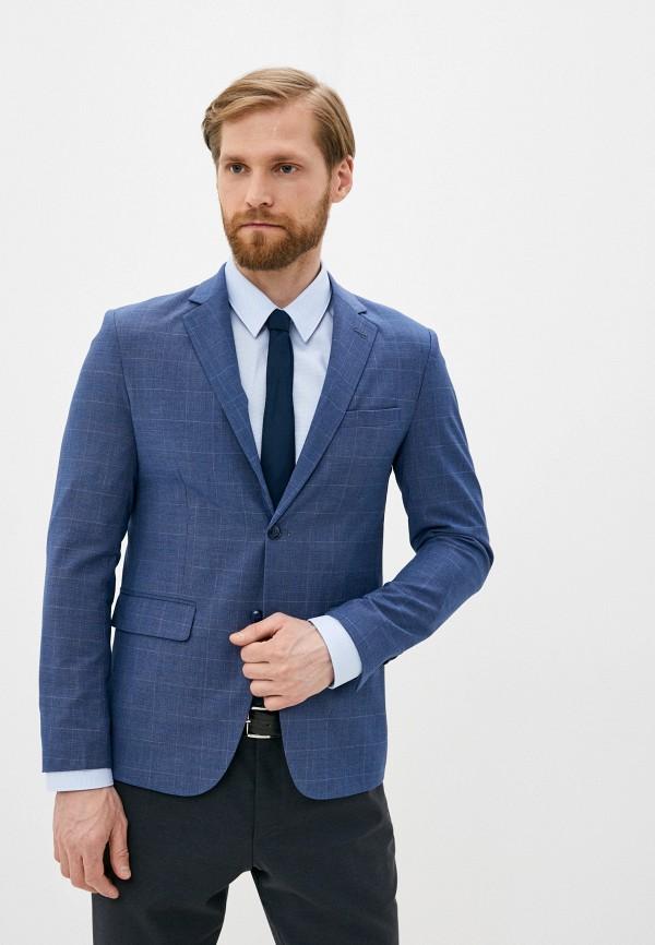 мужской пиджак y.two, синий