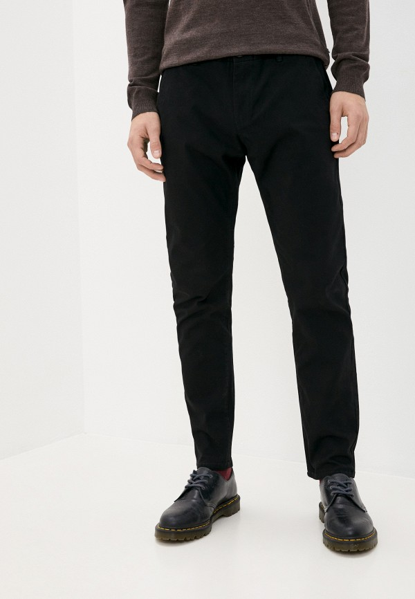 мужские повседневные брюки y.two, черные