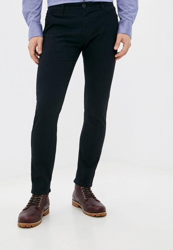 мужские зауженные брюки y.two, синие