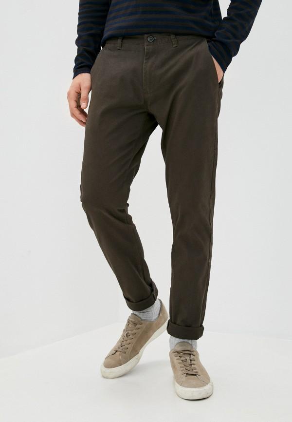 мужские брюки чинос y.two, коричневые