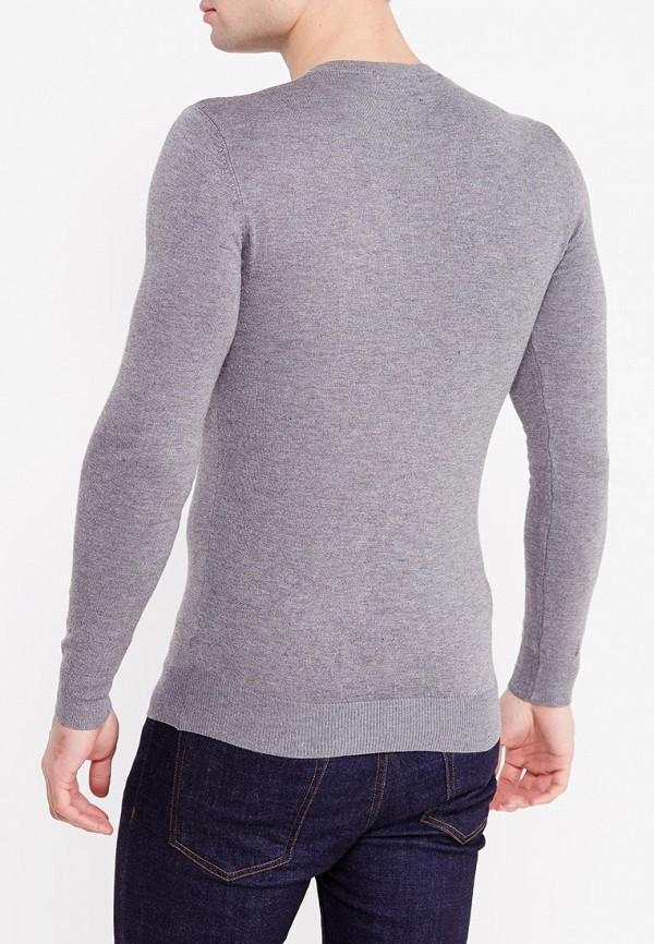 Фото 10 - мужской пуловер Y.Two серого цвета