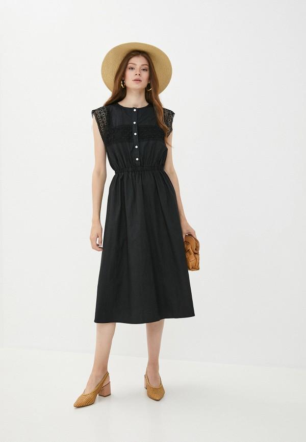 женское повседневные платье y.two, черное