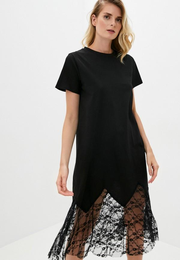 женское платье y.two, черное