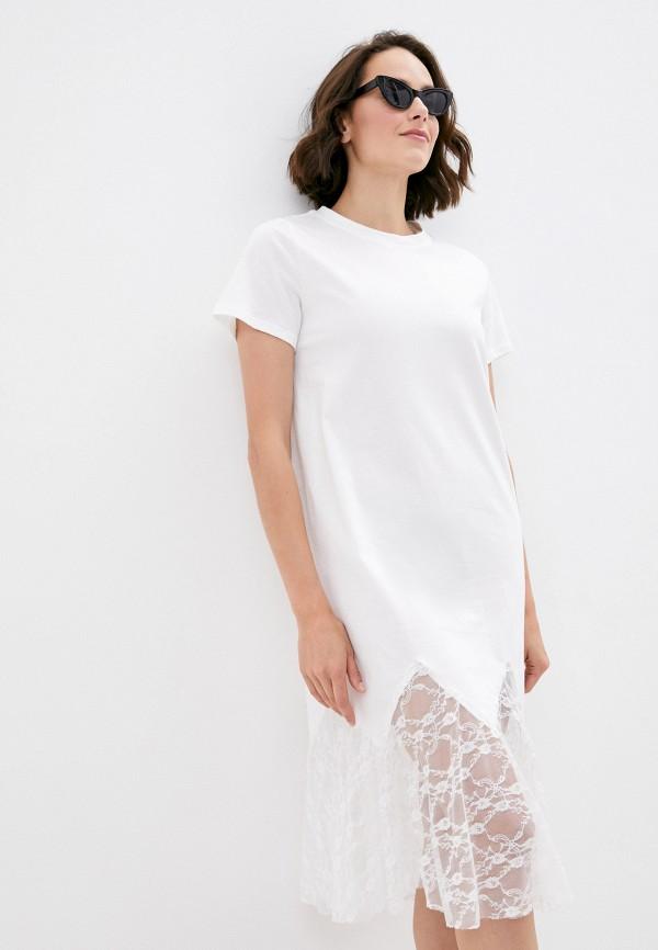 женское платье y.two, белое