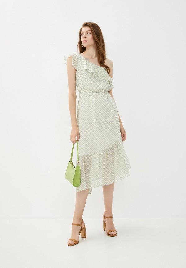женское повседневные платье y.two, зеленое