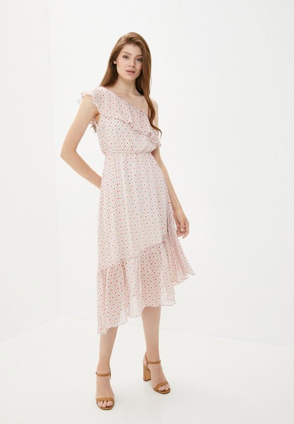 женское повседневные платье y.two, розовое