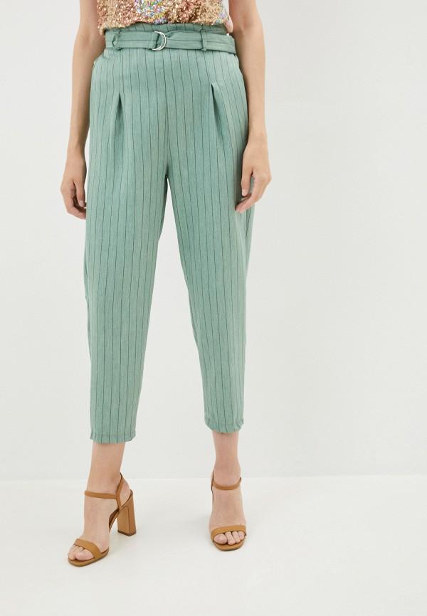 женские повседневные брюки y.two, зеленые