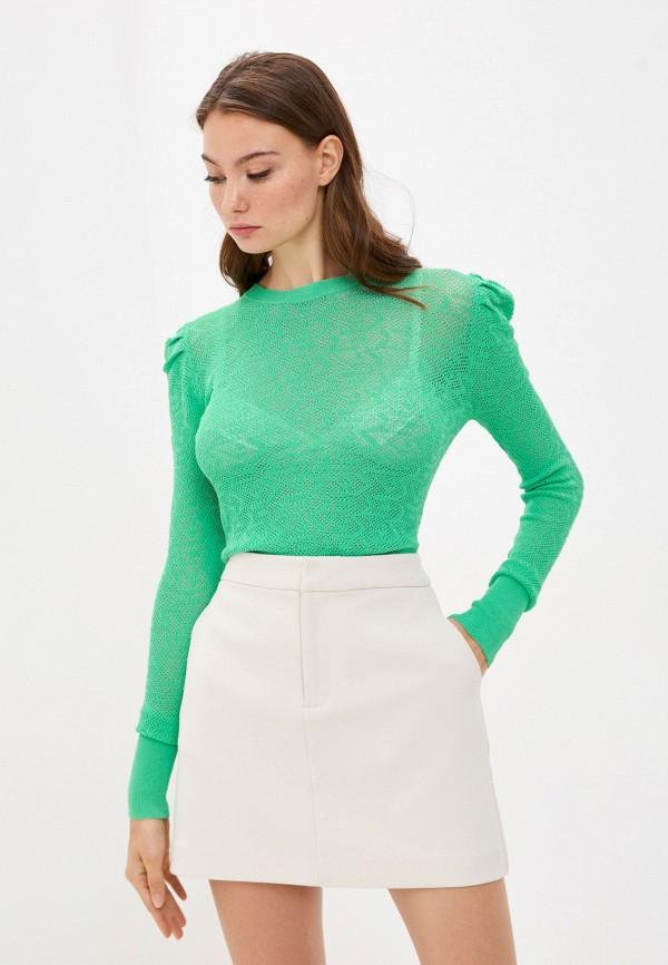 женский джемпер y.two, зеленый