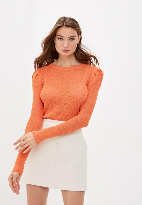 женский джемпер y.two, оранжевый