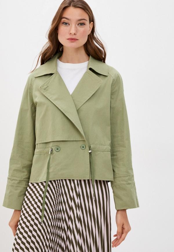 женская куртка y.two, хаки