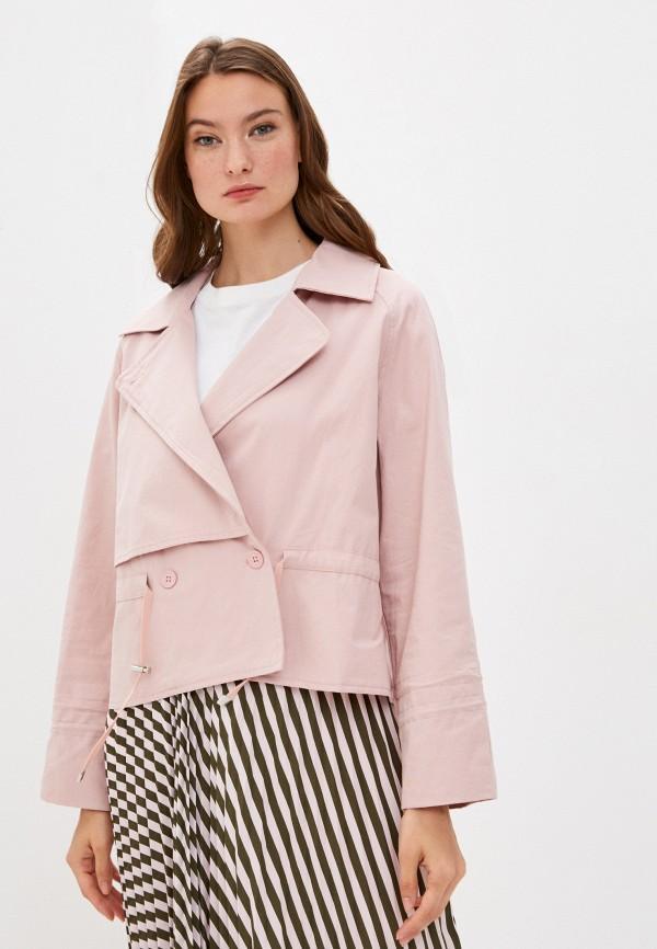 женская куртка y.two, розовая