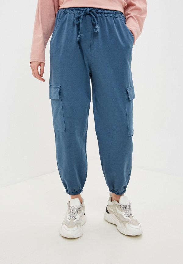 женские брюки y.two, синие