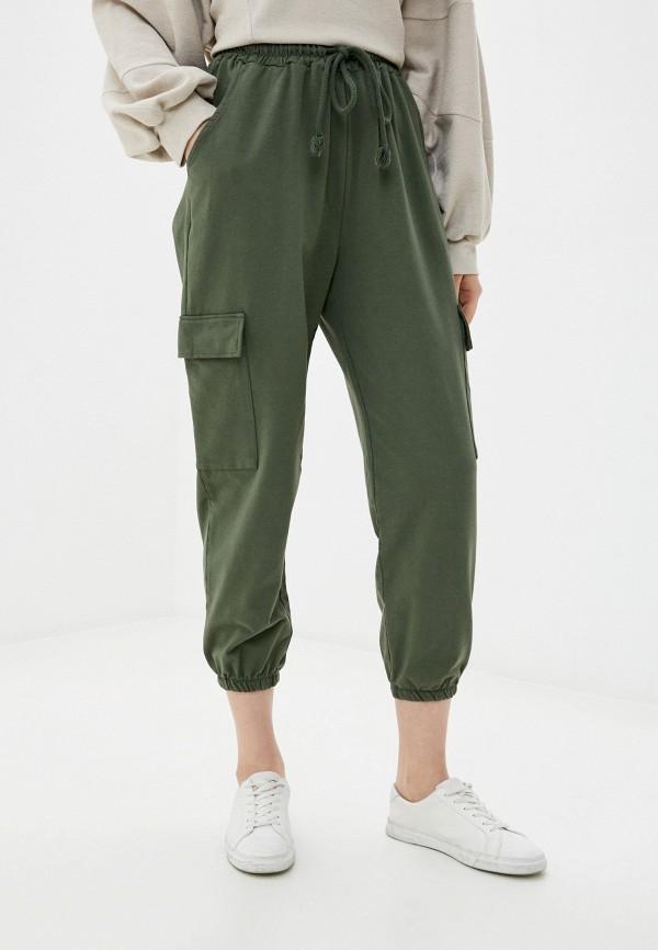 женские брюки y.two, зеленые