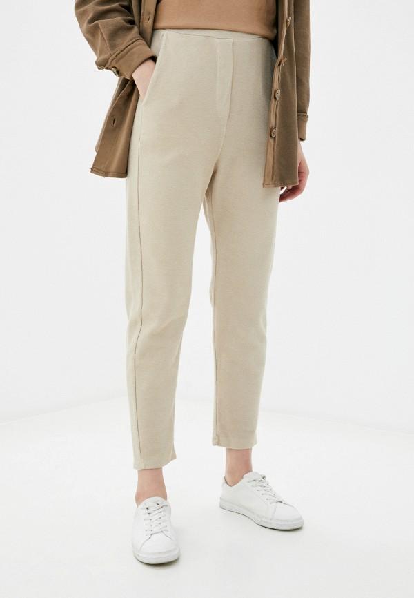 женские брюки y.two, бежевые