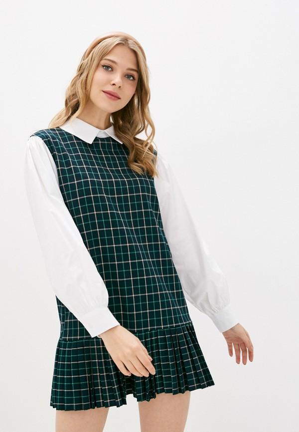 женское платье y.two, зеленое