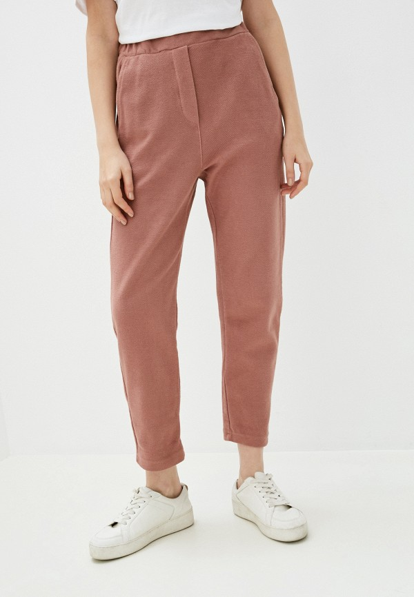 женские спортивные брюки y.two, розовые