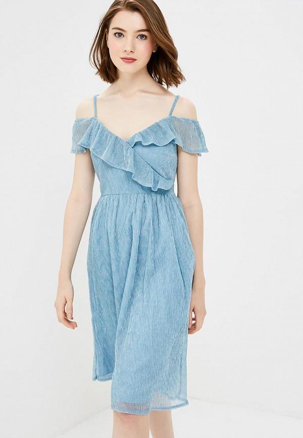 Платье Yumi Yumi YU001EWCEIG9 комфортное платье с поясом yumi платья и сарафаны мини короткие