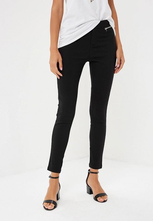 женские повседневные брюки yumi, черные