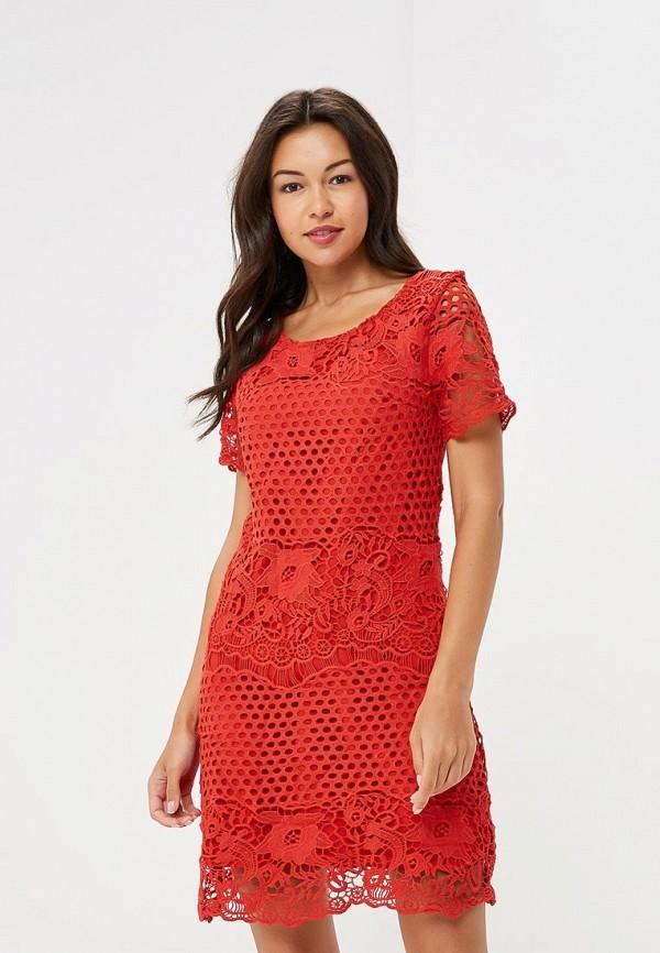 женское вечерние платье yumi, красное