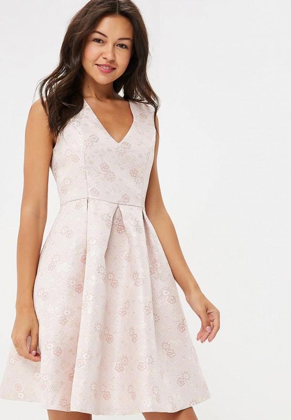 женское платье yumi, розовое