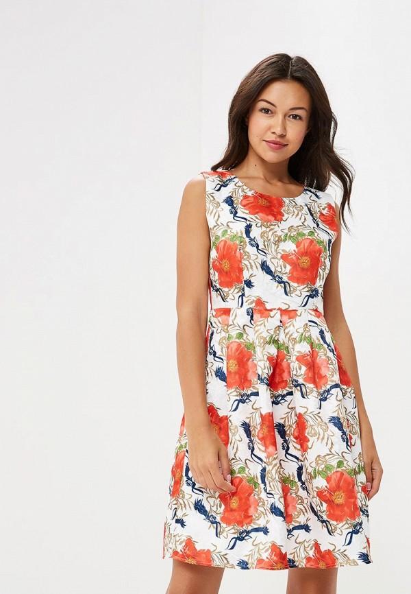 Платье Yumi Yumi YU001EWCEIM3 комфортное платье с поясом yumi платья и сарафаны мини короткие