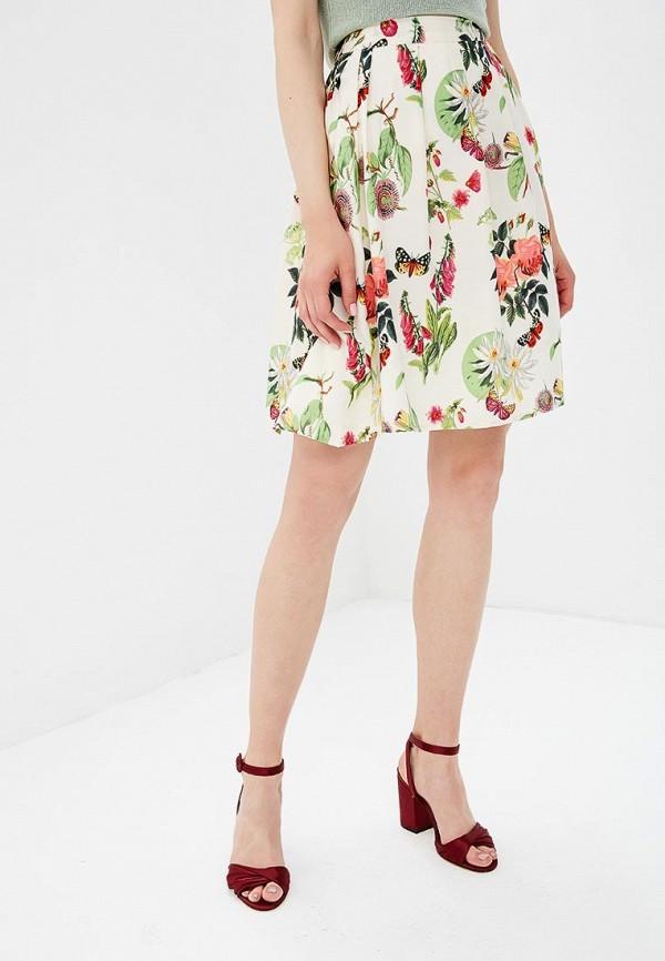 женская юбка yumi, белая