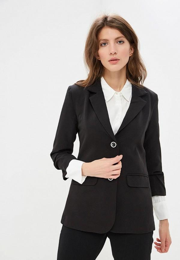 женский пиджак yumi, черный
