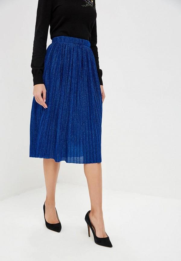 женская юбка yumi, синяя