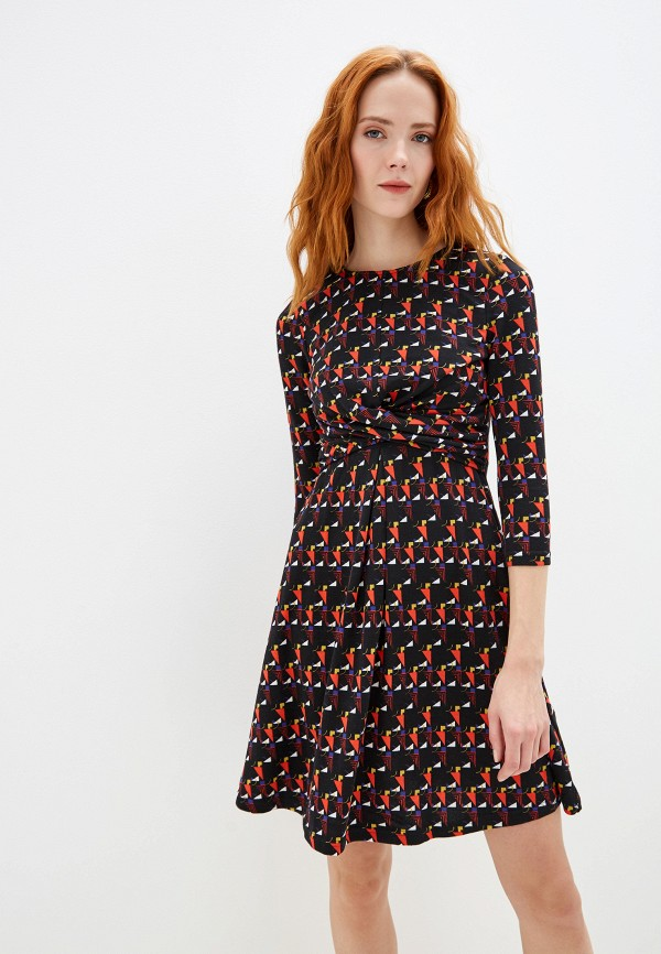 женское повседневные платье yumi, черное