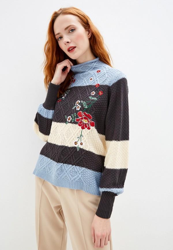 женский свитер yumi, разноцветный