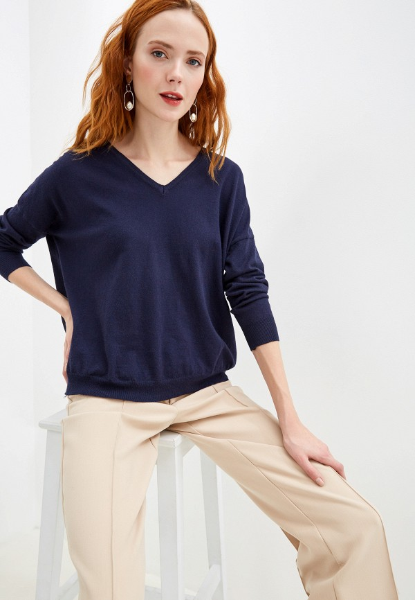 женский пуловер yumi, синий