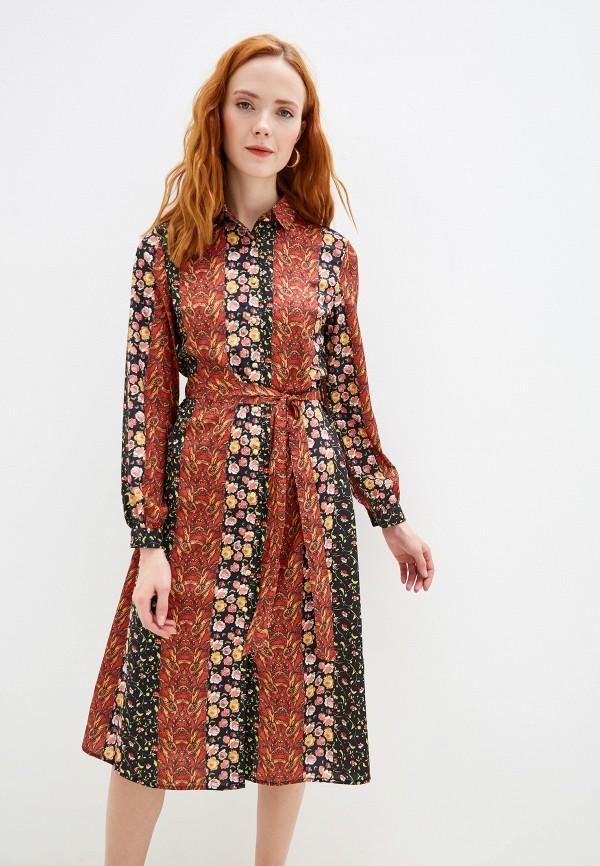 женское платье yumi, разноцветное