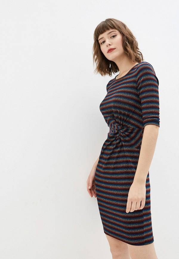 женское повседневные платье yumi, разноцветное