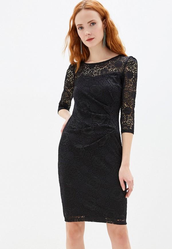 женское вечерние платье yumi, черное