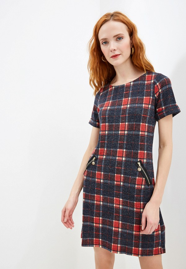 женское повседневные платье yumi, красное