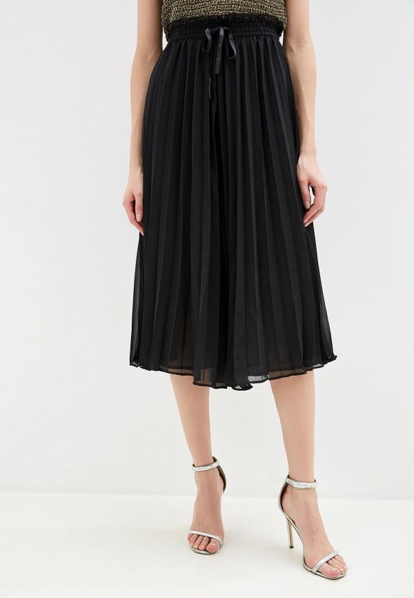 женские брюки yumi, черные