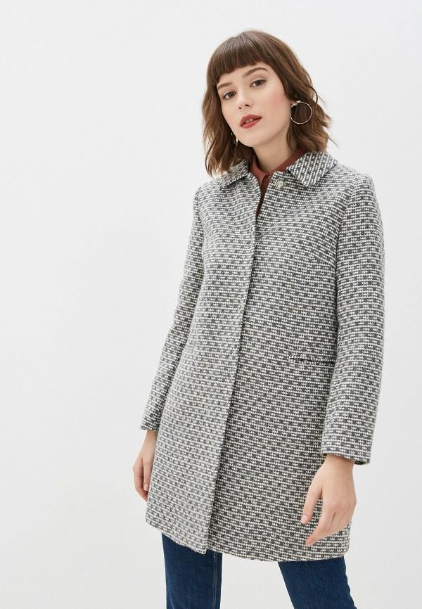 женское пальто yumi, серое