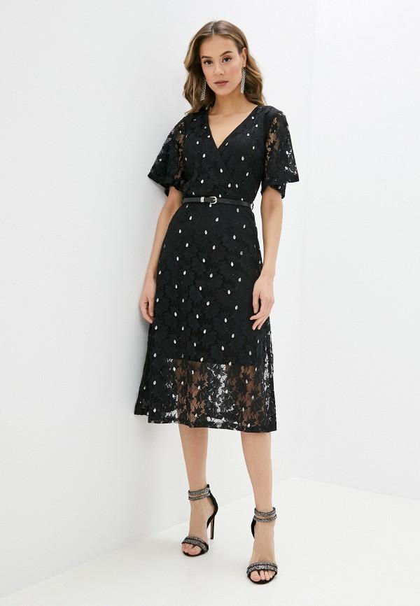 женское платье yumi, черное