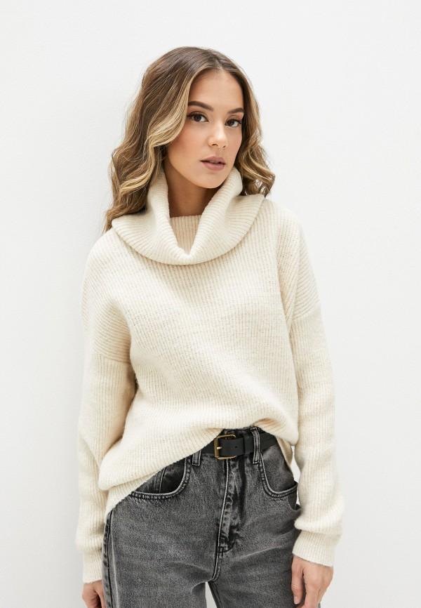 женский свитер yumi, бежевый