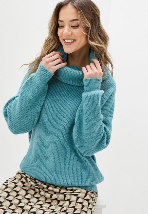 женский свитер yumi, голубой