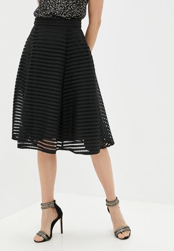 женская юбка yumi, черная