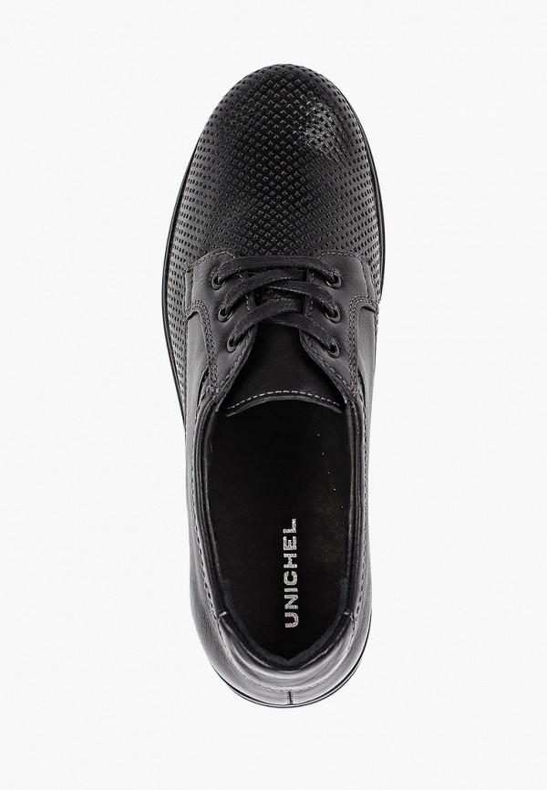 Фото 4 - Ботинки Юничел черного цвета