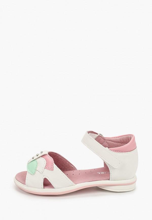 сандалии юничел для девочки, разноцветные