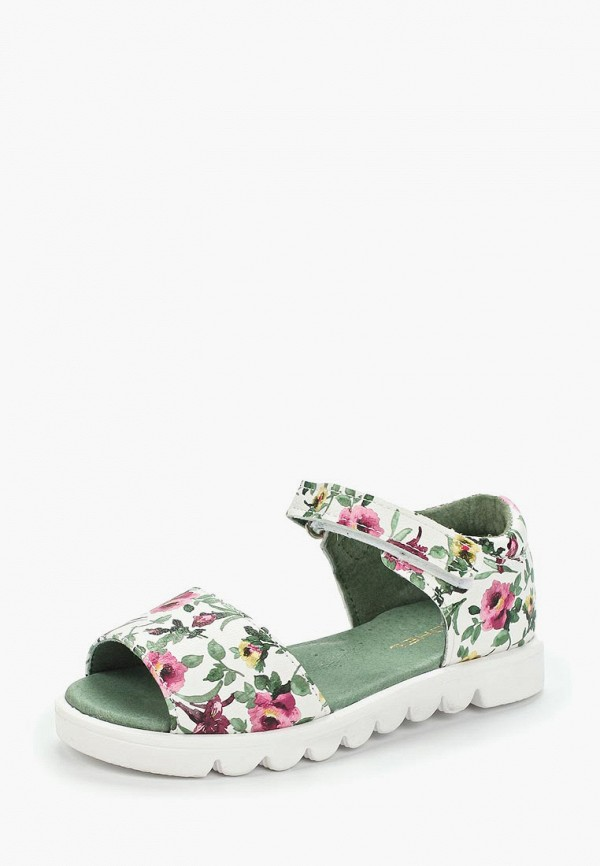 сандалии юничел для девочки, белые
