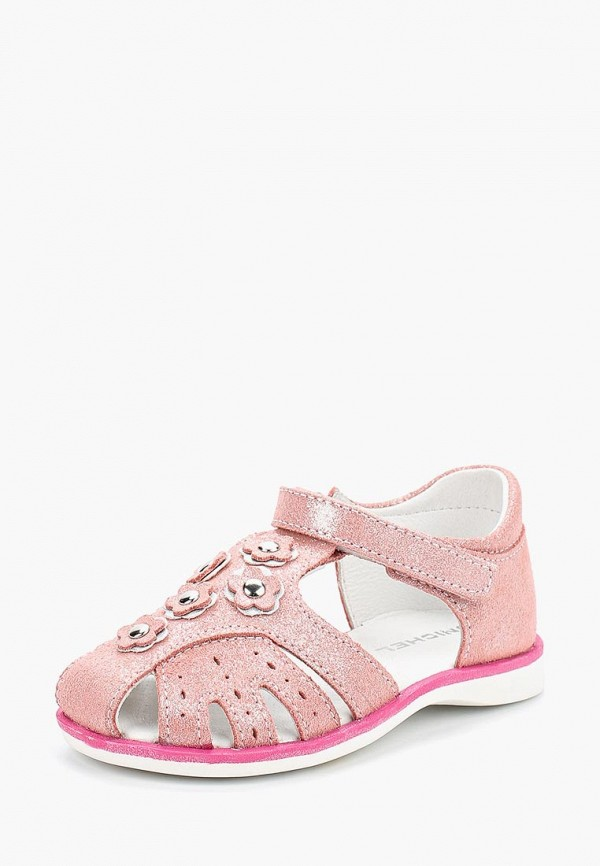 сандалии юничел для девочки, розовые