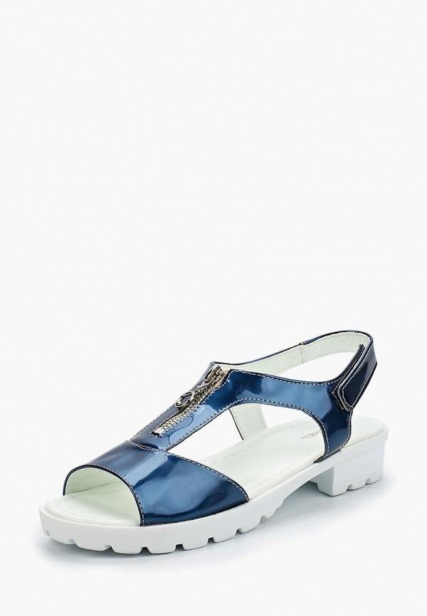 сандалии юничел для девочки, синие