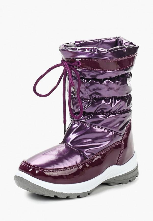 Купить Дутики Юничел, yu003agcjxa1, фиолетовый, Осень-зима 2018/2019
