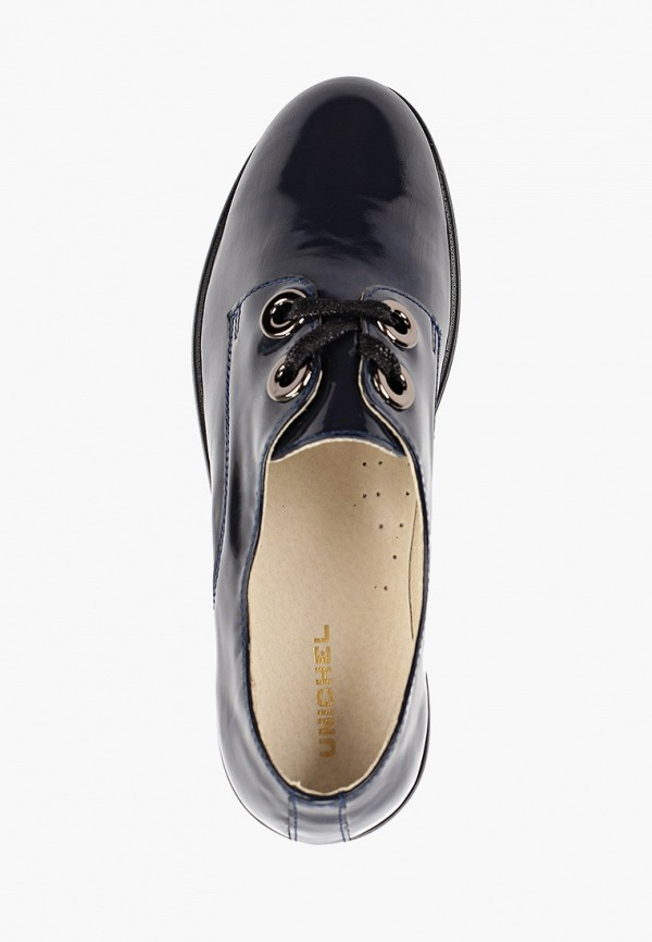Фото 4 - Ботинки Юничел синего цвета
