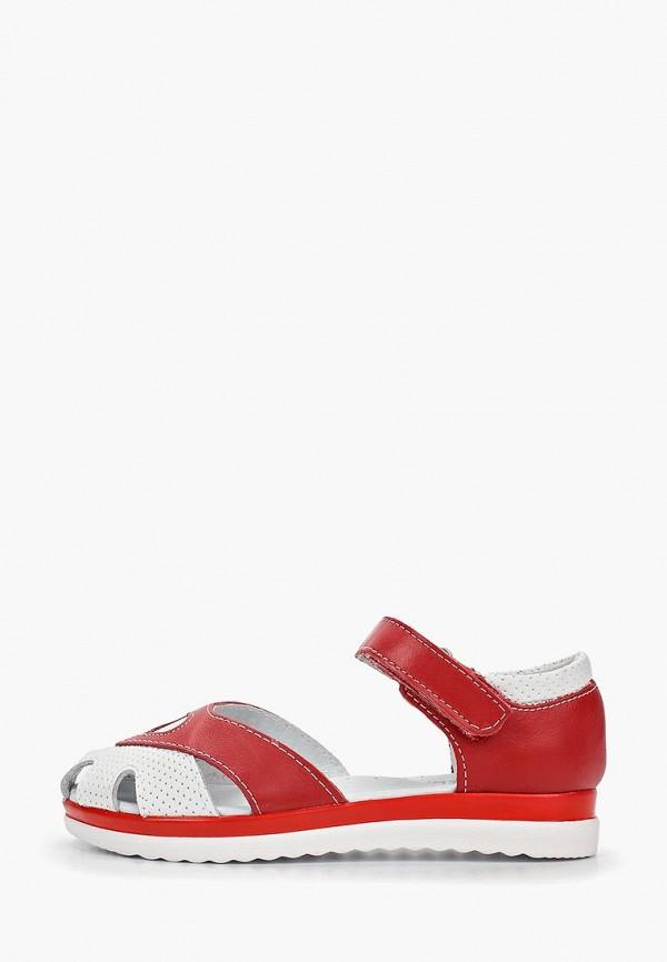 сандалии юничел для девочки, красные